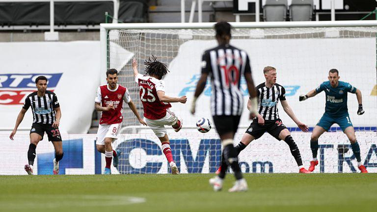 Нюкасъл - Арсенал 0:2