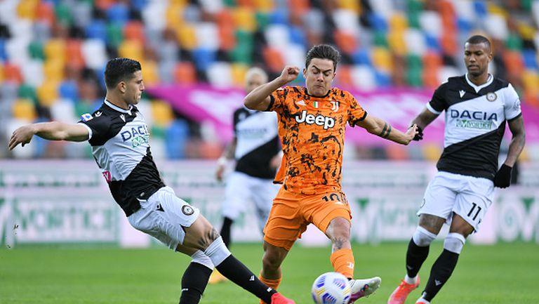 Роналдо изведе Ювентус до драматичен обрат и 2:1 срещу Удинезе