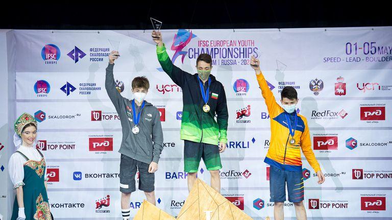Два медала за България на ЕП по спортно катерене за юноши и девойки