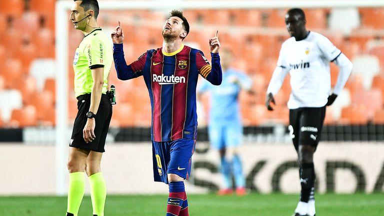 Меси изведе Барселона до успех преди най-важния двубой