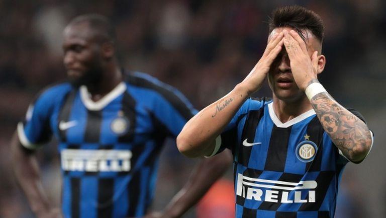 """Интер пропусна отличен шанс да се върне на върха в Серия """"А"""" (видео)"""
