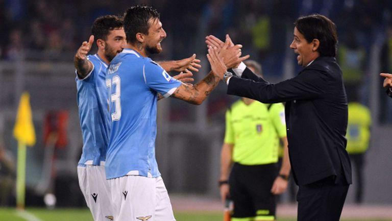 Лацио подхвана Торино с фамозно попадение и го довърши с автогол (видео)