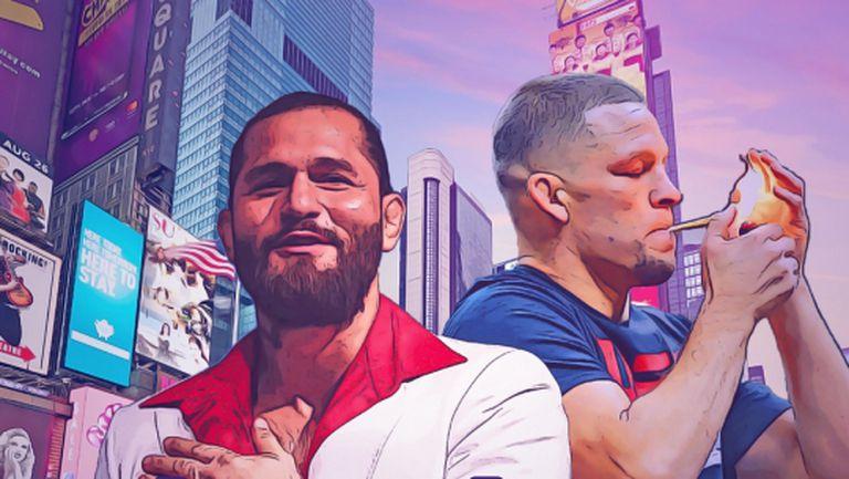Нейт Диас и Хорхе Масвидал обещаха мач за вековете (видео)