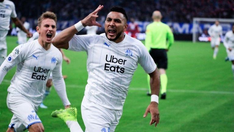 Димитри Пайе вдъхнови Марсилия за триумф в дербито с Лион