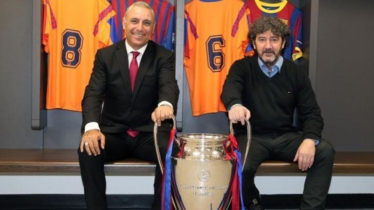 Стоичков получава пожизнена заплата от Барселона