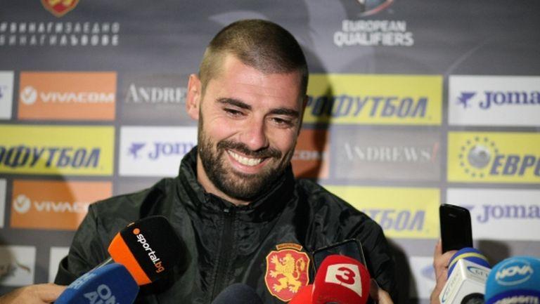 Георги Георгиев: Амбициран съм да се докажа (видео)