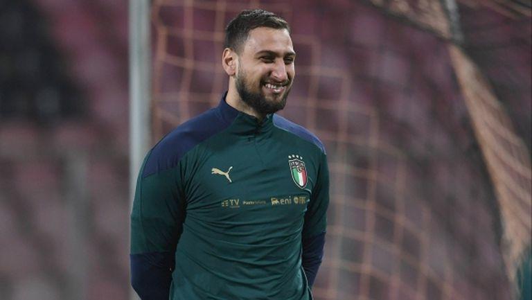 Ювентус ще атакува Милан за Донарума през лятото