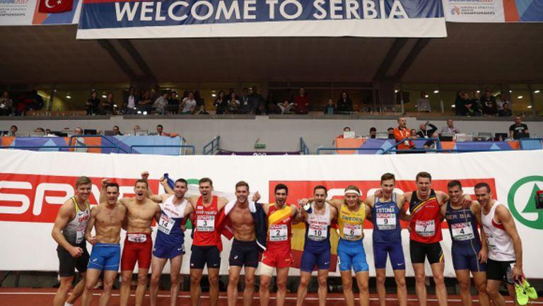 Белград приема Световното по лека атлетика в зала през 2022 г.