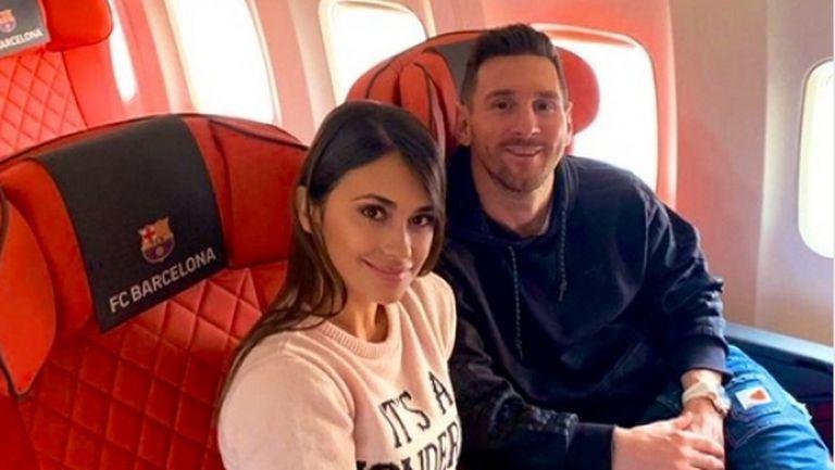 Семейство Меси пристигна в Париж