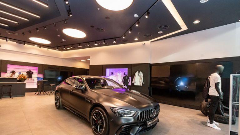 Силвър Стар отвори уникален бутик на Mercedes-Benz в София