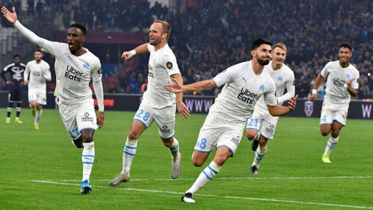 Марсилия продължава да гони ПСЖ с шеста поредна победа