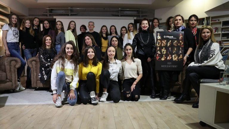 """Fibank пусна новия календар с участието на """"златните"""" момичета"""