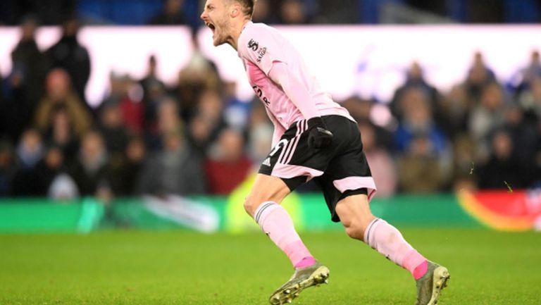 Лестър изгуби аванс от два гола, но по трудния начин се класира на полуфинала
