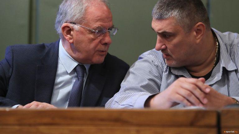 Още една изненада! Данчо Лазаров упълномощи Любо Ганев да ръководи БФВ наравно с него до 13 март (видео + галерия)