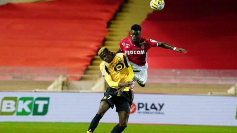 Играчите на Монако избрали сами схемата срещу Лил