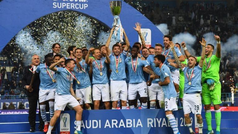 Лацио отново разплака Юве и Сари! Роналдо загуби първи финал след 11 поредни успеха