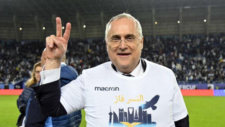 Лотито: Лацио може да сбъдва мечти