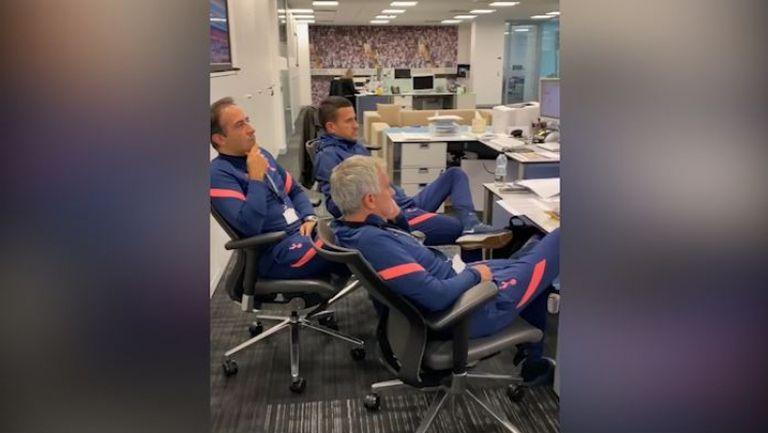Моуриньо и неговият екип гледаха с интерес жребия за Лига Европа