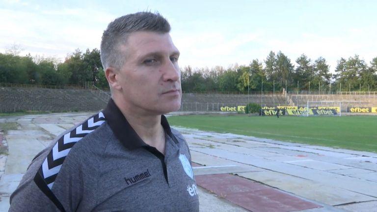 Красимир Бислимов: Залагаме на младите футболисти