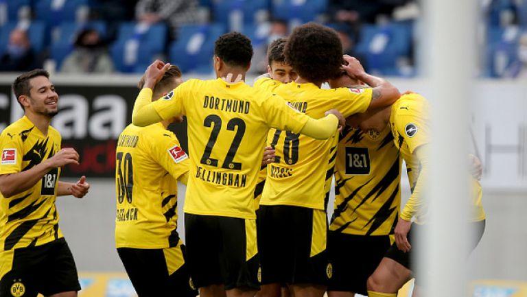 Резервите Ройс и Холанд донесоха успеха на Дортмунд
