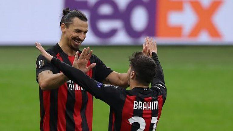 Браим Диас откри за Милан срещу Спарта Прага