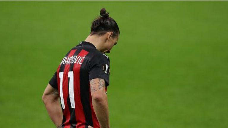Златан Ибрахимович пропусна дузпа за Милан срещу Спарта Прага