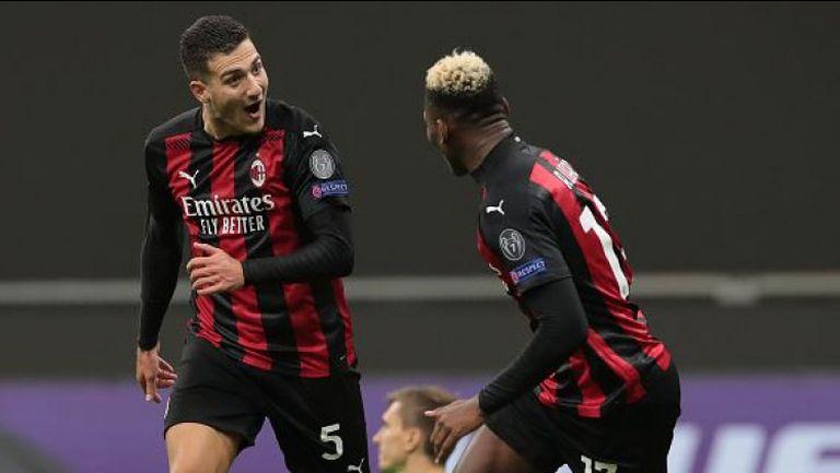 3:0 за Милан срещу Спарта Прага с гол на Диого Далот