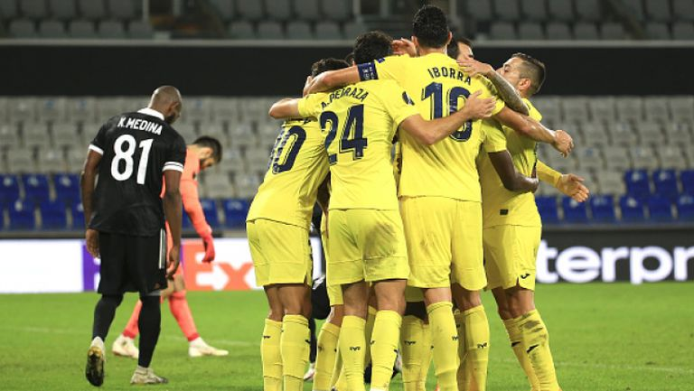 ФК Карабах - Виляреал 1:3