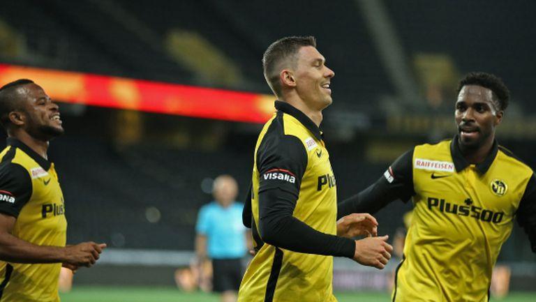 Тирана затрудни Йънг Бойс само до първия гол