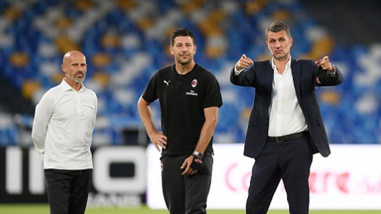 Помощник-треньор на Милан е с коронавирус