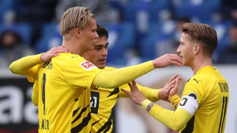 Дортмунд си тръгна с трите точки от неприятен за Байерн за стадион (видео)
