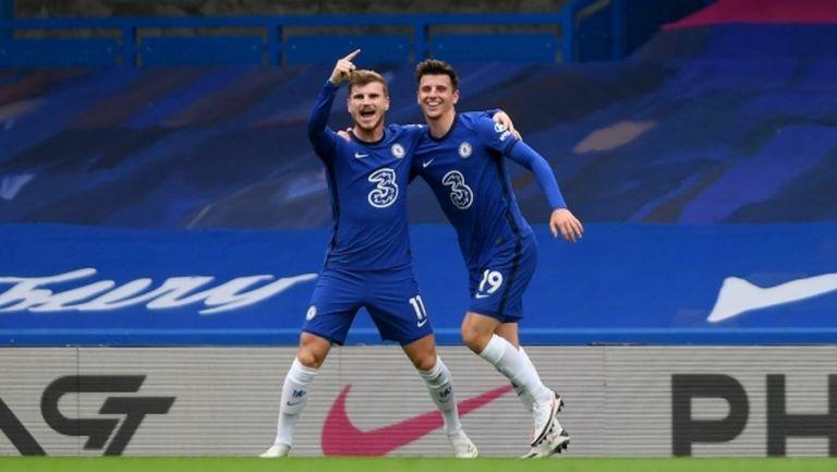 """Два гола и асистенция на Вернер не стигнаха на Челси за победа срещу """"светците"""" (видео)"""