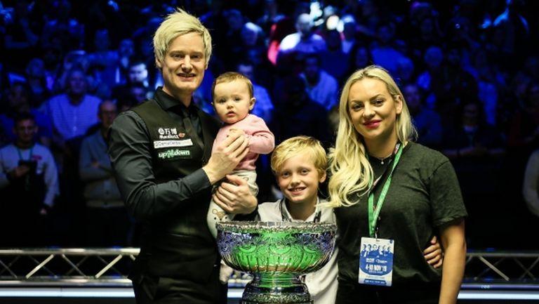"""""""Шампион на шампионите"""" е четвъртият най-силен снукър турнир след """"Тройната корона"""""""