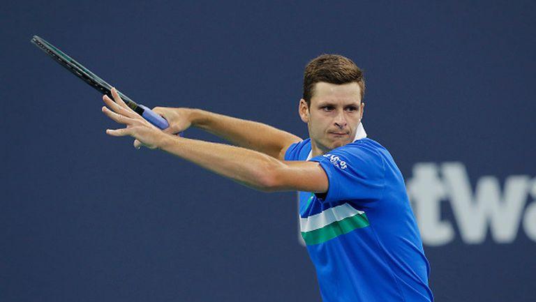 Хуркач изхвърли Рубльов от Miami Open