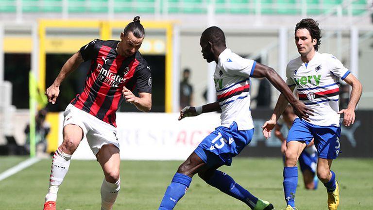 Милан и Сампдория не излъчиха победител