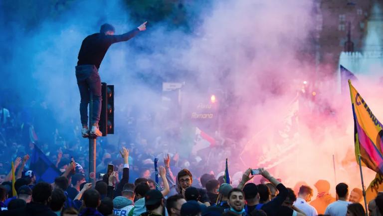 Полицията разгони тифозите на Интер