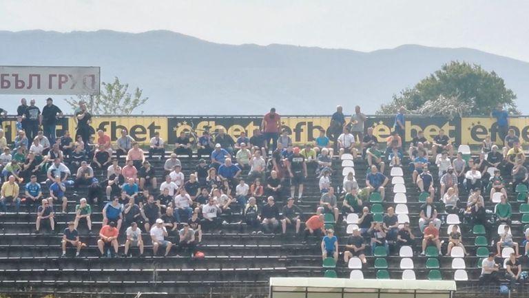 Жителите на Пазарджик подкрепят Хебър срещу Локомотив