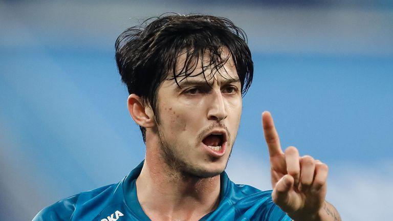 Иранец влезе в историята на Зенит с голов рекорд