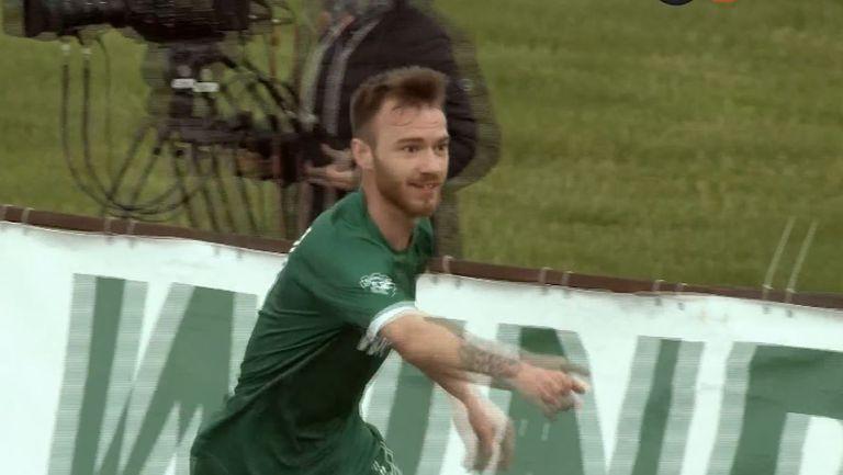 Ботев (Враца) реши всичко с втори гол във врата на Етър в края на мача