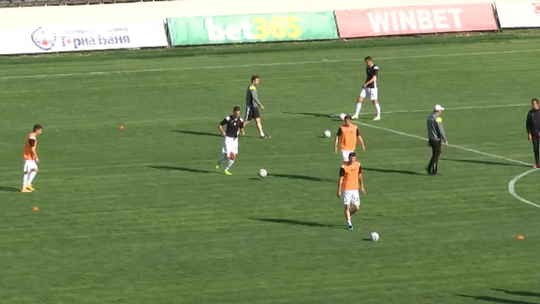 Футболистите на Загорчич ще преследват успех срещу Монтана