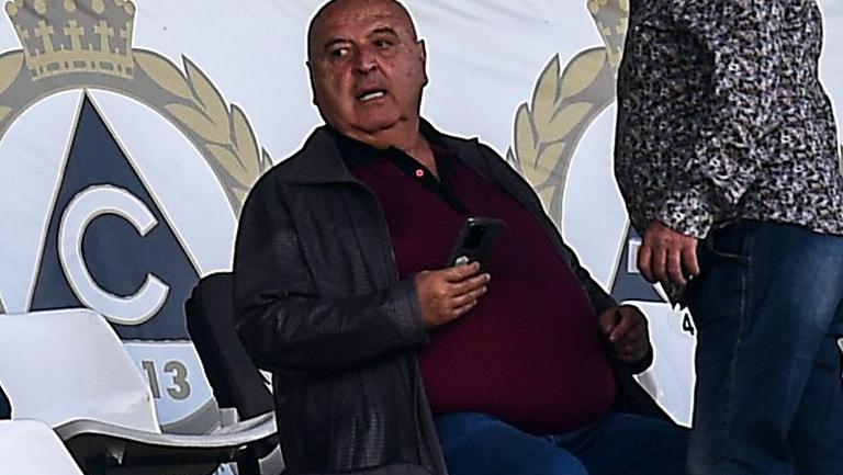 Венцеслав Стефанов в добро настроение преди сблъсъка с Монтана