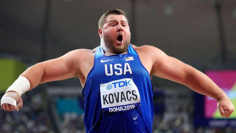 Впечатляваща победа на Джо Ковач в сектора за тласкане на гюле