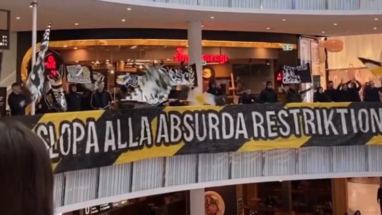 В мола вместо на стадиона: странно изискване провокира шведски фенове