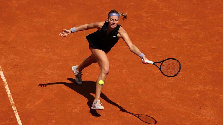 Квитова се класира за четвъртфиналите в Мадрид