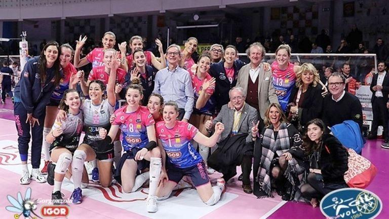 Супер Ели донесе победа №9 за Новара в Италия (снимки)
