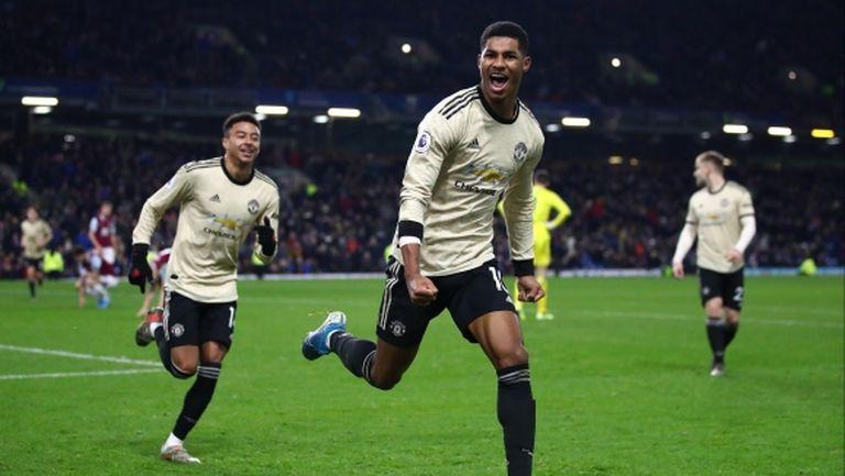 Втора победа за два дни доближи Манчестър Юнайтед до топ 4 (видео)