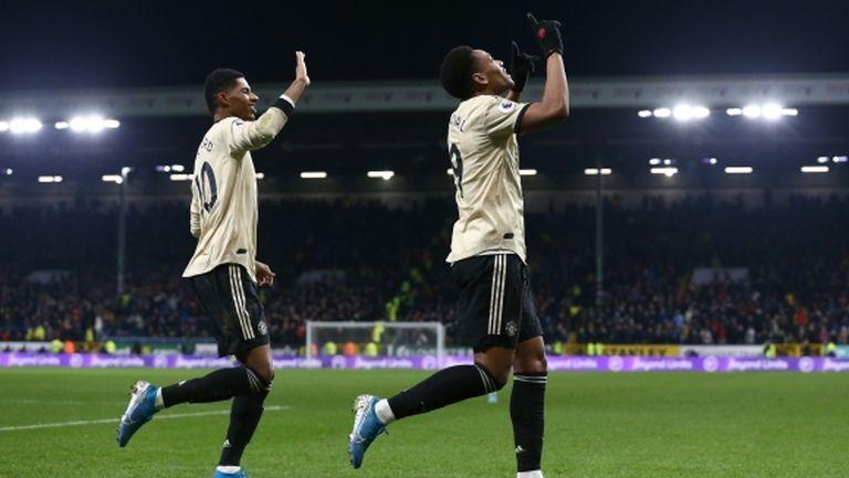 Скоулс: Нападението на Ман Юнайтед не отстъпва на нито едно в Европа