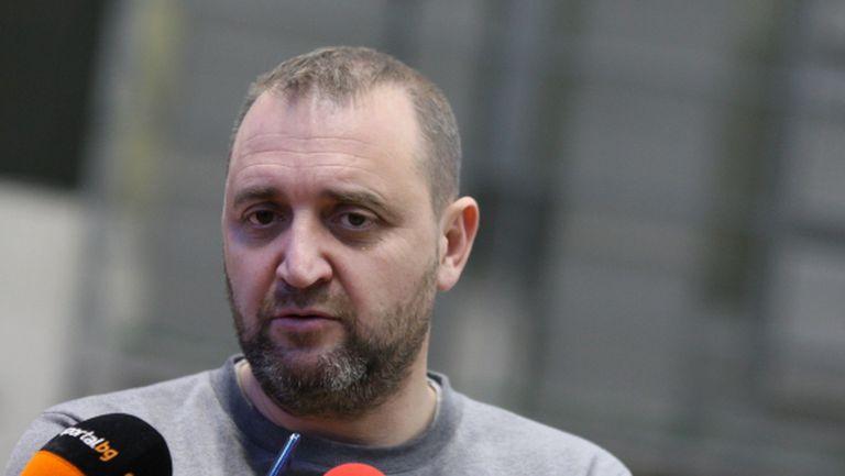 Иван Петков: Доволен съм от състоянието на отбора (видео)