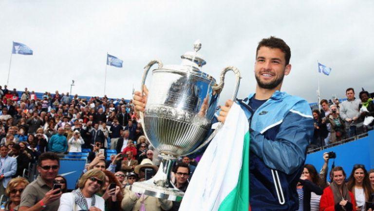 Григор е един от малкото тенисисти в последното десетилетие, които...