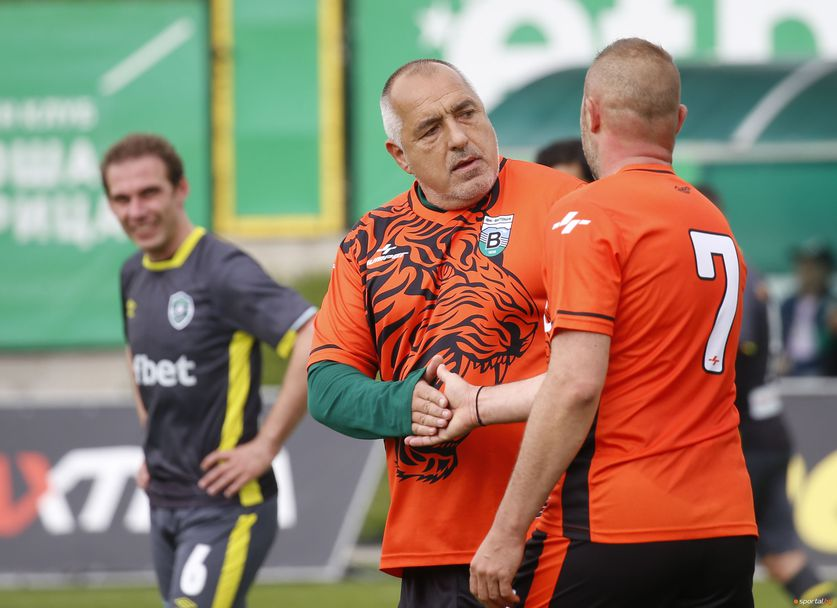"Бойко Борисов и ""Бистришките тигри"" срещу Лудогорец във финала за ветерани"